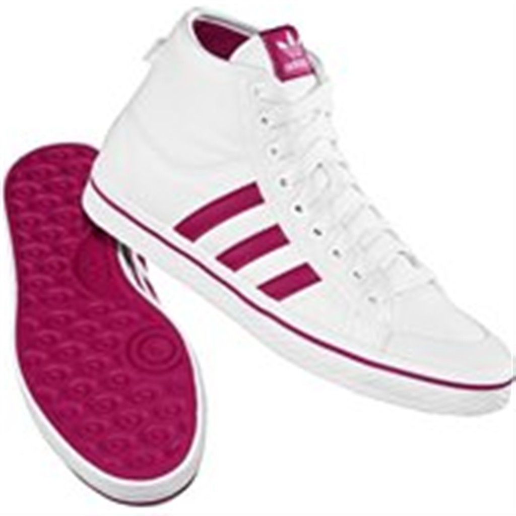 EDMARK Salon Sportowy :: Buty ADIDAS HONEY STRIPES MID W WHT